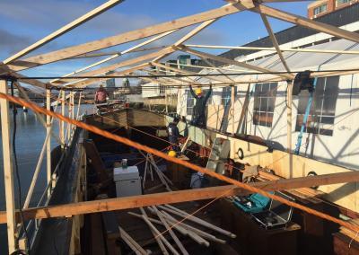 Escape Boat repairs