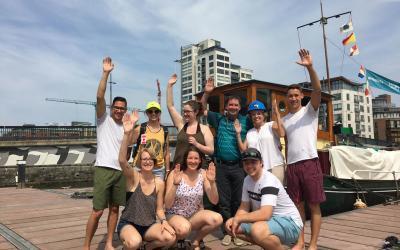 The Escape Boat – Dublins Latest Tourist Attraction!